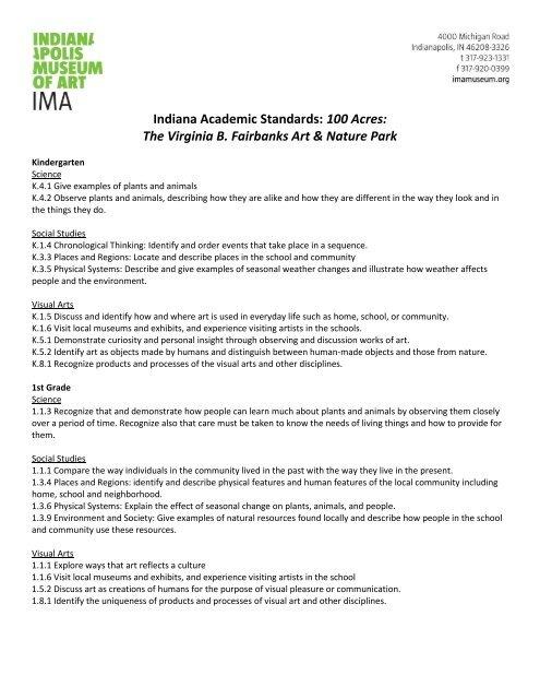 Indiana Academic Standards: 100 Acres - Indianapolis Museum ... on fat map, ava map, artwork of indianapolis map, mas map, viking map, cmc map, thomas map, mac map, martin map, scott map, university of minnesota campus map, afa map,
