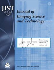 Additional Material, Journal of Imaging Science - Society for Imaging ...