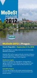 MoDeSt 2012   Prague - Institute of Macromolecular Chemistry