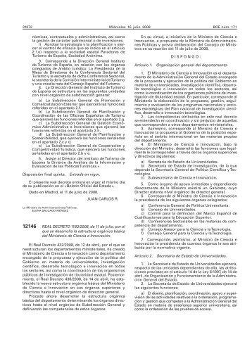 BOE 171 de 16/07/2008 Sec 1 Pag 31072 a 31080 - Instituto ...
