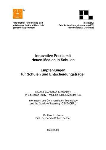 Empfehlungen für Schulen und Entscheidungsträger - IFS