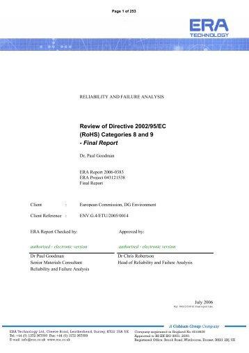 Final Report - IFC