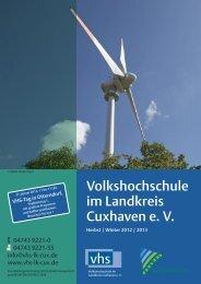 VHS CUX - Volkshochschule im Landkreis Cuxhaven e.V.