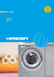 Download the catalogue P-LINE - IMESA SpA