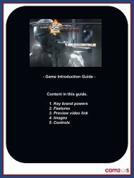- Game Introduction Guide - Content in this guide. 1. Key ... - IMGA