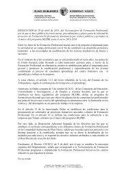 Orden del Gobierno Vasco... - IMH