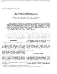 Grain refinement in AlMgSi alloy during cyclic extrusion-compression