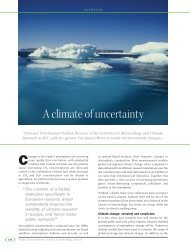 A climate of uncertainty - IMK-ASF - KIT