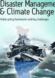 DISASTER MANAGEMENT & CLIMATE CHANGE India's risk ...
