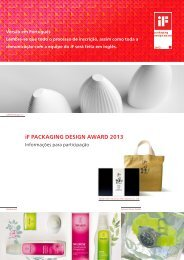 SEU CONTATO PARA O iF PACKAGING DESIGN AWARD 2013 ...
