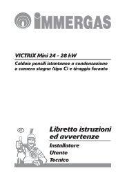 Libretto istruzioni ed avvertenze