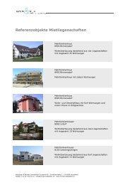Referenzobjekte Mietliegenschaften - Hofstetter & Partner ...