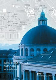 Immobilien-Strategie der ETH Zürich 2012/2020 ...