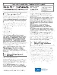 Influenza Vaccine 2012 - 2013 Inactivated - Ilokano