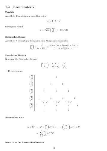 1.4 Kombinatorik - imng