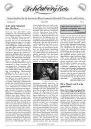 Kirchspiel Drößnitz / Wittersroda
