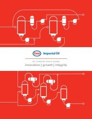 2011 Summary Annual Report - Imperial Oil