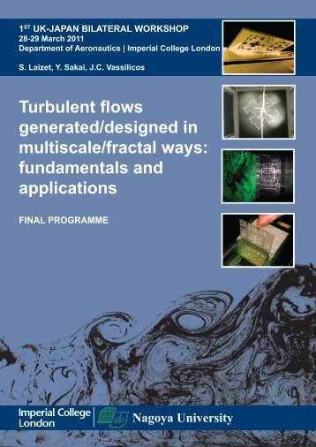 Turbulent flows generated/designed in multiscale/fractal ... - Ercoftac
