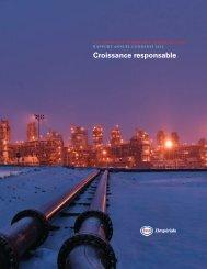 Croissance responsable - Imperial Oil