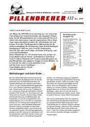 Pillendreher Ausgabe 122 Dez 2009 - IGBCE-Biberach