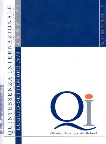 Diagnosi e trattamento della malattia perimplantare - Implantologia ...