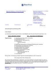 Jahreshauptversammlung 2012 Liebes Mitglied, zur  - Blaues Kreuz