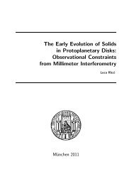 The Early Evolution of Solids in Protoplanetary Disks - International ...