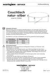 5788986 Couchtisch natur- silber - Impressionen.de