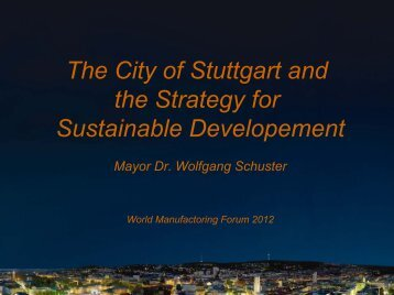 Stuttgart - Intelligent Manufacturing Systems