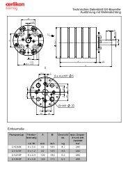 Technisches Datenblatt GX-Baureihe Ausführung ... - Oerlikon Barmag