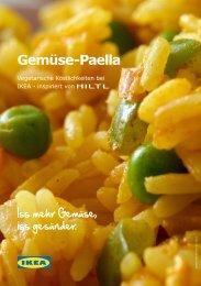 Gemüse-Paella - Ikea