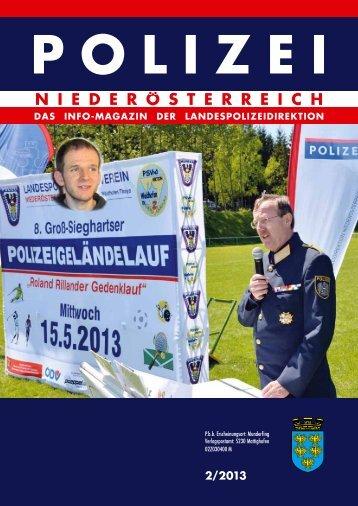 Ausgabe 2/2013 - Polizei © Polizei