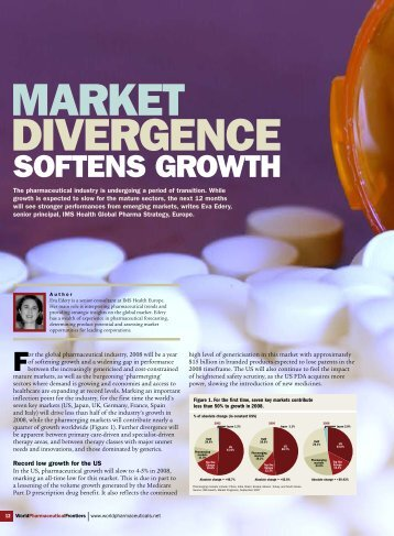 SOFTENS GROWTH - IMS Health