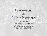 Analyse de physique: méthodes et outils - IN2P3