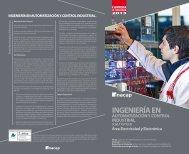 ingeniería en automatización y control industrial - Inacap
