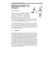 Modellierung und Messung des Übertragungsverhaltens von ...