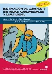 instalación de equipos y sistemas audiovisuales y multimedia