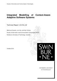 Integrated Modelling of Context-Aware Adaptive Software Systems
