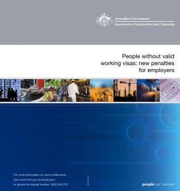 People without valid working visas - Department of Immigration ...