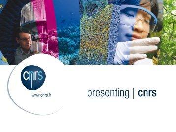 presenting | cnrs - IN2P3