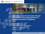 Humanoide Roboter - IGES Institut GmbH