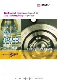 Nullpunkt Spannsystem 4000 / Zero Point Mounting System 4000