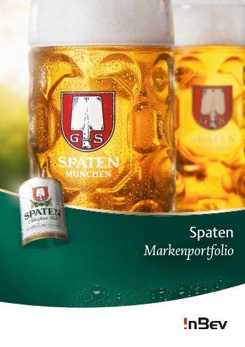 Spaten Markenportfolio - InBev Services