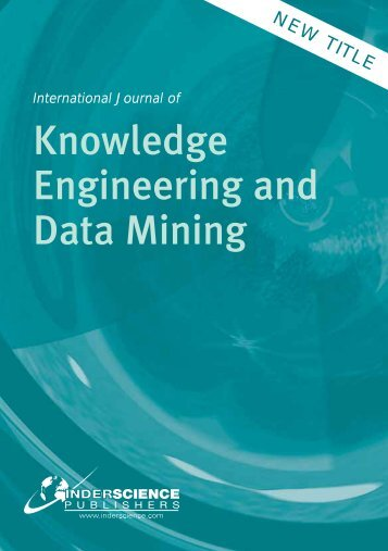 International Journal of Knowledge Engineering and Data Mining