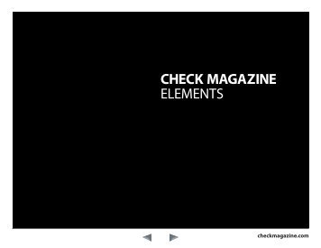 CHECK MAGAZINE ELEMENTS - InDesign User Group