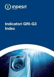 Indicatori GRI-G3 Index - Indesit