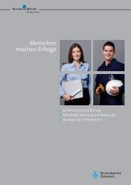 Menschen machen Erfolge - Bilfinger Berger Industrial Services