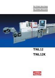 TNL12 / TNL12K - INDEX-Werke GmbH & Co. KG Hahn & Tessky