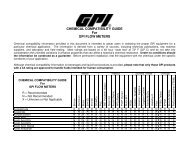 to download our Chemical Compatibility chart. - GPI Meters