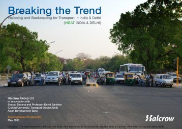 Breaking the Trend - India Environment Portal